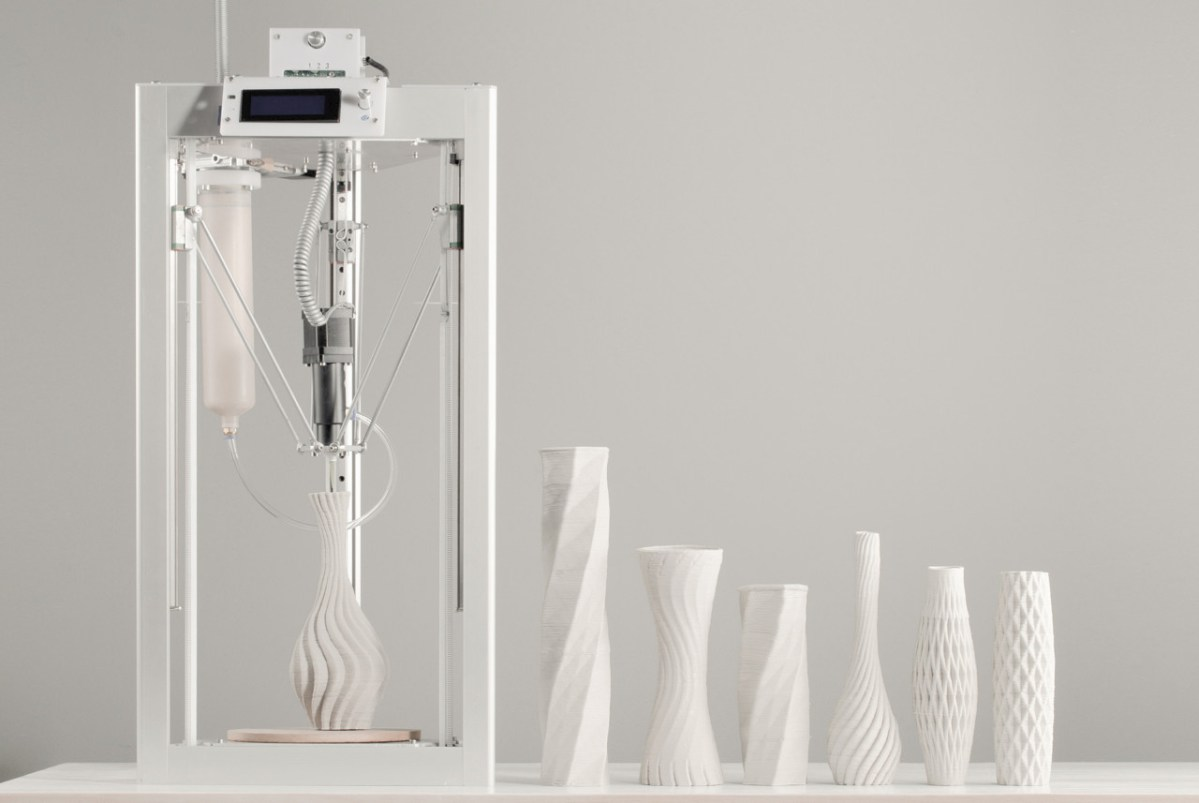 Cerambot, The Ceramics-Making 3D Printer